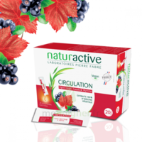 Naturactive Phytothérapie Fluides Solution buvable Circulation 20 Sticks/10ml à VERNON
