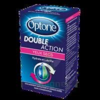 Optone Double Action Solution Oculaire Yeux Secs Fl/10ml à VERNON