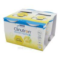 Clinutren Dessert 2.0 Kcal Nutriment Vanille 4cups/200g à VERNON