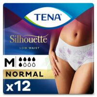 Tena Lady Silhouette Slip Absorbant Blanc Normal Médium Paquet/12 à VERNON