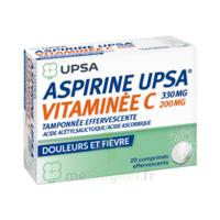 ASPIRINE UPSA VITAMINEE C TAMPONNEE EFFERVESCENTE, comprimé effervescent à VERNON