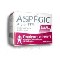 ASPEGIC ADULTES 1000 mg, poudre pour solution buvable en sachet-dose 20 à VERNON