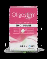 OLIGOSTIM Zinc Cuivre Cpr subl T/40 à VERNON