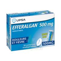 EFFERALGAN 500 mg, comprimé orodispersible à VERNON