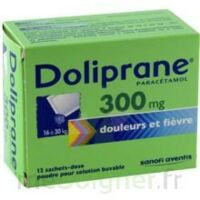 DOLIPRANE 300 mg Poudre pour solution buvable en sachet-dose B/12 à VERNON
