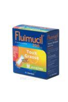 FLUIMUCIL EXPECTORANT ACETYLCYSTEINE 200 mg ADULTES SANS SUCRE, granulés pour solution buvable en sachet édulcorés à l'aspartam et au sorbitol à VERNON