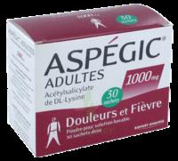 ASPEGIC ADULTES 1000 mg, poudre pour solution buvable en sachet-dose 30 à VERNON