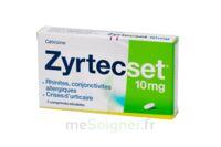 ZYRTECSET 10 mg, comprimé pelliculé sécable à VERNON