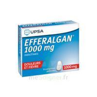 Efferalgan 1000 Mg Comprimés Pelliculés Plq/8 à VERNON
