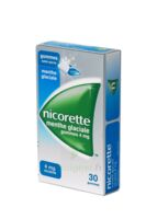 NICORETTE 4 mg Gom à mâcher médic sans sucre menthe glaciale Plq/30gom à VERNON
