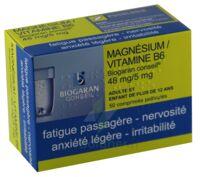 MAGNESIUM/VITAMINE B6 BIOGARAN CONSEIL 48 mg/5 mg, comprimé pelliculé à VERNON