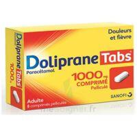 DOLIPRANETABS 1000 mg Comprimés pelliculés Plq/8 à VERNON