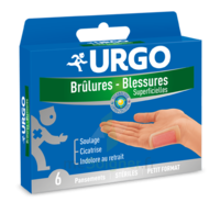 URGO BRULURES-BLESSURES PETIT FORMAT x 6 à VERNON