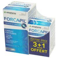 Forcapil Gélules croissance vitalité cheveux ongles B/180+60 à VERNON