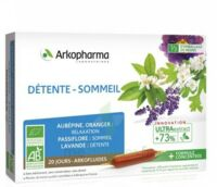 ARKOFLUIDE BIO ULTRAEXTRACT Solution buvable détente sommeil 20 Ampoules/10ml à VERNON
