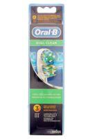 Brossette De Rechange Oral-b Dual Clean X 3 à VERNON