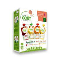 Good Goût Alimentation infantile variety fruits 4 Gourdes/120g + cuillère à VERNON