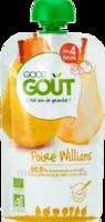 Good Goût Alimentation infantile poire williams Gourde/120g à VERNON