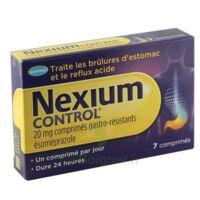NEXIUM CONTROL 20 mg Cpr gastro-rés Plq/7 à VERNON
