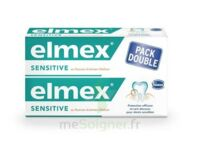 ELMEX SENSITIVE DENTIFRICE, tube 75 ml, pack 2 à VERNON