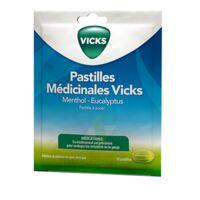 PASTILLES MEDICINALES VICKS Past à sucer menthol eucalyptus Sach/30 à VERNON