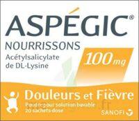 ASPEGIC NOURRISSONS 100 mg, poudre pour solution buvable en sachet-dose à VERNON