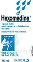 HEXOMEDINE 1 POUR MILLE, solution pour pulvérisation cutanée en flacon pressurisé à VERNON