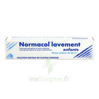 NORMACOL LAVEMENT ENFANTS, solution rectale, récipient unidose à VERNON