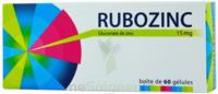 RUBOZINC 15 mg Gél 1Plq/60 à VERNON