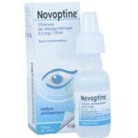 NOVOPTINE 2,5 mg/10 ml, collyre en flacon à VERNON