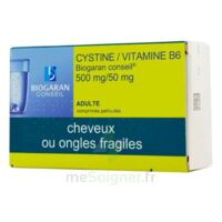 CYSTINE/VITAMINE B6 BIOGARAN CONSEIL 500 mg/50 mg Cpr pell Plq/120 à VERNON