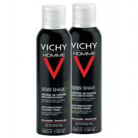 VICHY mousse à raser peau sensible LOT à VERNON
