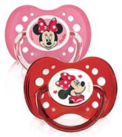 Dodie Disney sucettes silicone +18 mois Minnie Duo à VERNON