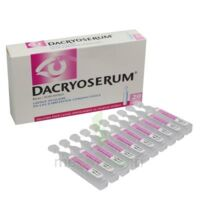 DACRYOSERUM Solution pour lavage ophtalmique en récipient unidose 20Unidoses/5ml à VERNON