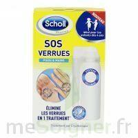 Scholl SOS Verrues traitement pieds et mains à VERNON
