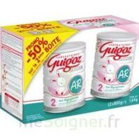 GUIGOZ LAIT EXPERT AR2 LOT DE 2X800GR à VERNON