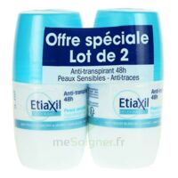 ETIAXIL DEO 48H ROLL-ON LOT 2 à VERNON