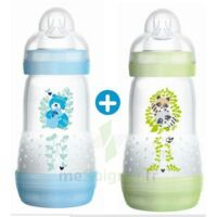 MAM BIBERON EASY START anti-colique 260 ml lot de 2_ BLEU & VERT à VERNON
