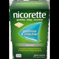 NICORETTE 2 mg Gom à mâcher médic sans sucre menthe fraîche Plq/105gom à VERNON