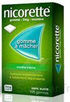 NICORETTE 2 mg Gom à mâcher médic sans sucre menthe fraîche Plq/30gom à VERNON