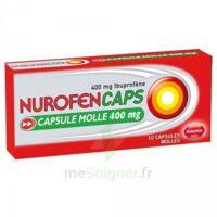 NUROFENCAPS 400 mg Caps molle Plq/10 à VERNON