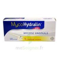 MYCOHYDRALIN 500 mg, comprimé vaginal à VERNON