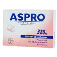 ASPRO 320 mg, comprimé à VERNON