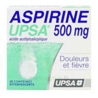 ASPIRINE UPSA 500 mg, comprimé effervescent à VERNON