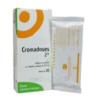 CROMADOSES 2 POUR CENT, collyre en solution en récipient unidose à VERNON