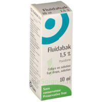 FLUIDABAK 1,5 %, collyre en solution à VERNON