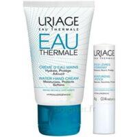 Uriage Eau Thermale Crème D'eau Mains T/30ml+stick Lèvres à VERNON