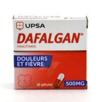 DAFALGAN 500 mg Gélules 2plq/8 (16) à VERNON