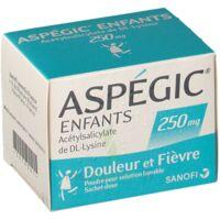 ASPEGIC ENFANTS 250, poudre pour solution buvable en sachet-dose à VERNON