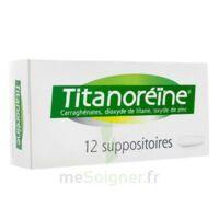 TITANOREINE Suppositoires B/12 à VERNON